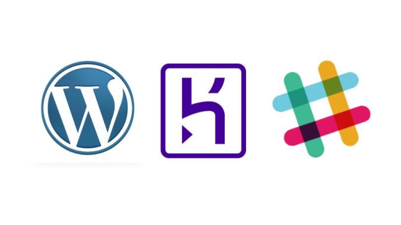 WordPress integration to Slack deployed on Heroku